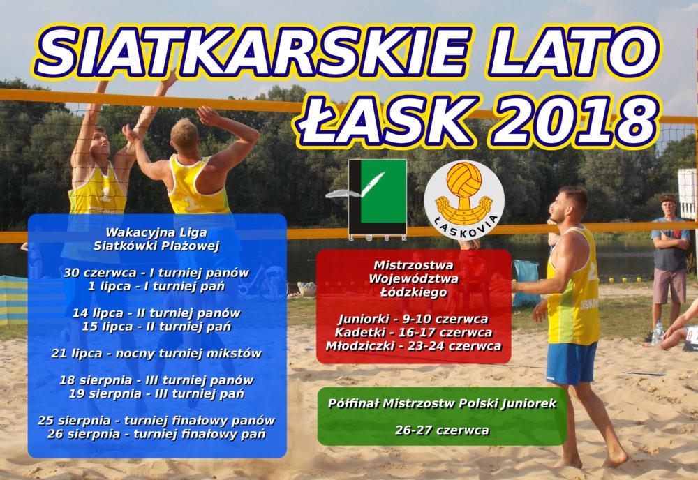 Siatkarskie lato - Łask 2018